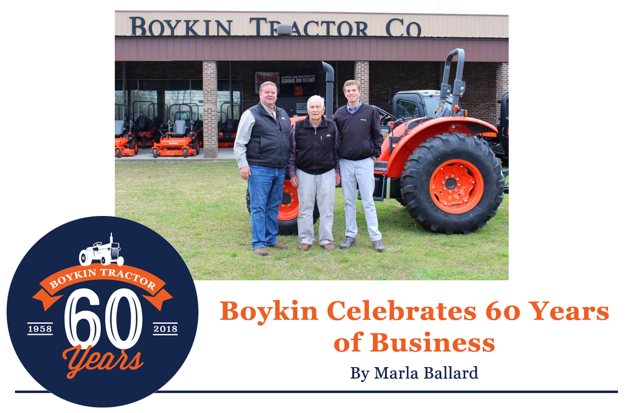 Boykin Celebrates 60 Years